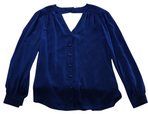 Bellatrix Button-down Top Blue