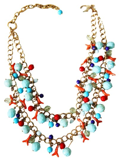 Other Turquoise and Coral Necklace
