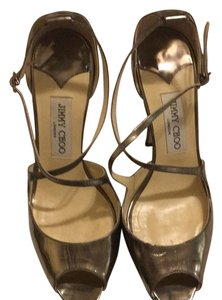 Jimmy Choo Metalic Sandals