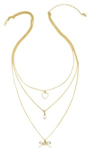 Juicy Couture Triple Strand Necklace