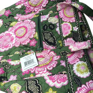 Vera Bradley Tote in Grean And Pink