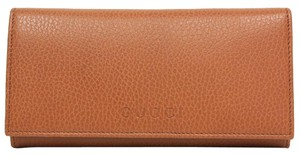 Gucci Gucci Saddle Brown Cognac Leather Continental Flap Wallet 305282