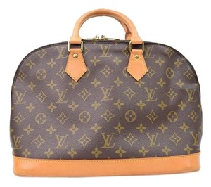 Louis Vuitton Alma Vuitton Alma Satchel in Monogram Canvas