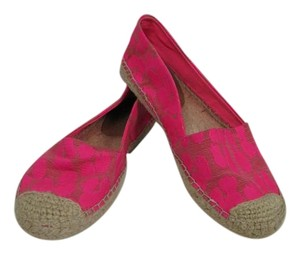 Juicy Couture Summer Espadrille Pink Flats