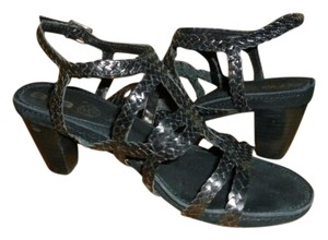 Ara Leather Stylish Black Sandals