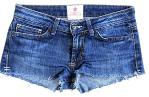 People's Liberation Cut Off Shorts Denim
