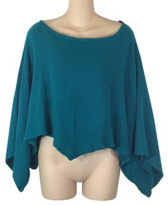 Oh My Gauze! Top Teal