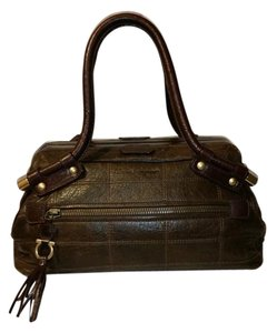 Salvatore Ferragamo Satchel in DarkBrown