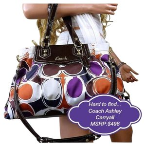 Coach Carryall Tote in multicolor