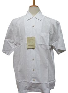 Tommy Bahama $69.00 - NWT - TOMMY BAHAMA Ivory 100% Cotton Button Front Shirt - Size M