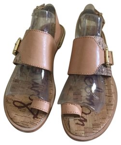 Sam Edelman Beige or a natural rose Sandals