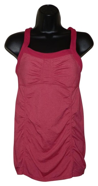 Item - Pink Stretchy Activewear Top Size 6 (S, 28)