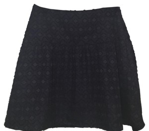 Ann Taylor Mini Skirt Blue