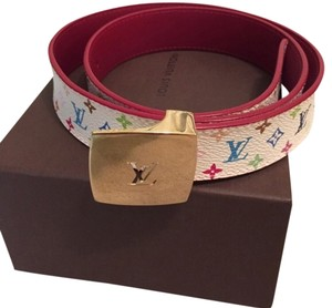 Louis Vuitton Multicolore Reversible Belt