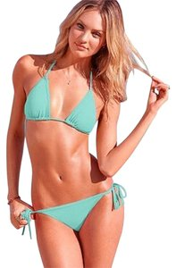 Victoria's Secret Brand New Victoria's Secret Triangle Bikini Set Sz S