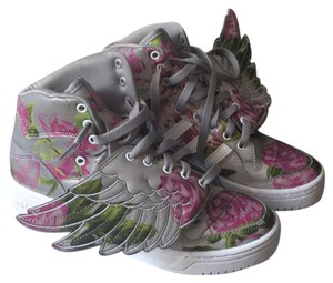 adidas Grey Pink green white Athletic