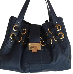 Jimmy Choo Tote in Dark Blue