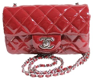 Chanel Flap Patent Cross Body Bag