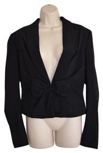 VIKTOR & ROLF & Bow Made In Italy Black Blazer