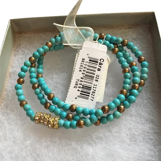 Other Nordstrom Set Of Turquoise Bracelets In Gift box Cara Brand