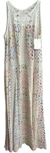 Multi color print w/lace detail Maxi Dress by Alexis