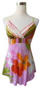 Jam's World Hawaiian Floral Top Pink