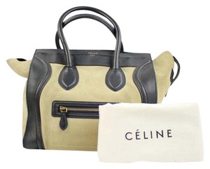Céline Two-tone Two Tone Tote in Beige