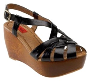 Miz Mooz Black Wedges