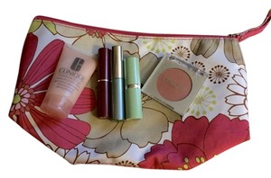 Clinique New Clinique Cosmetic Set Lotion Mascara Lipstick Blush