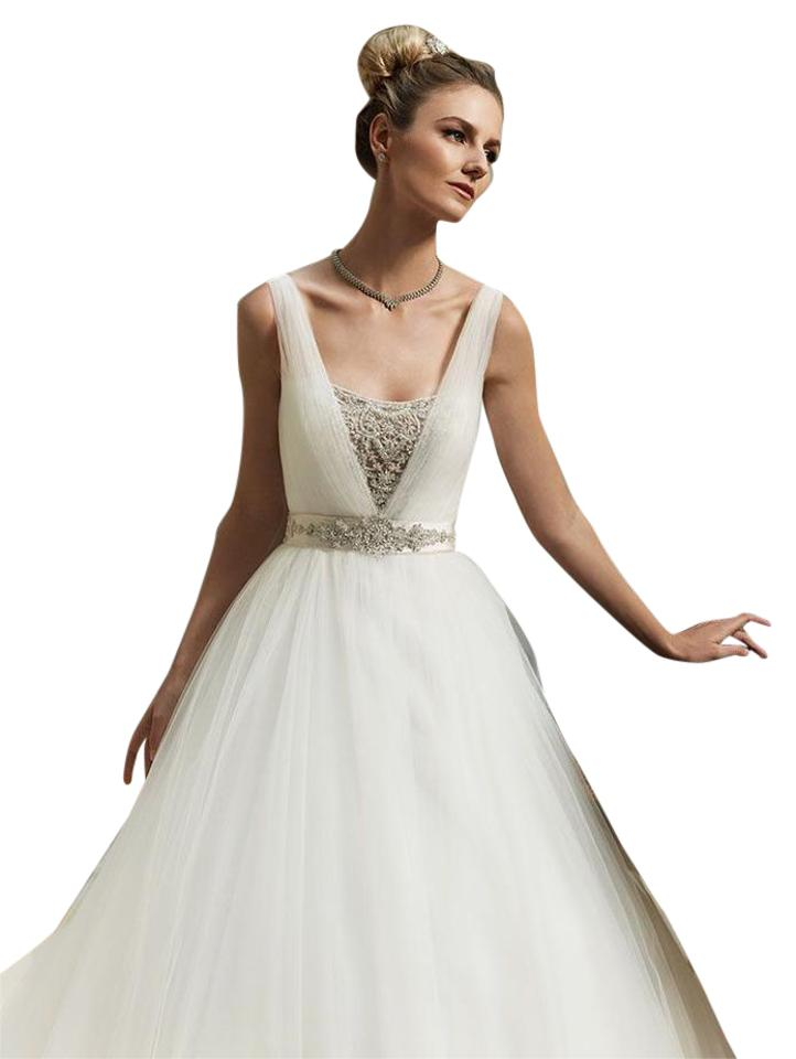 Casablanca ivory tullebeads 2091 princess ball gown modern casablanca ivory tullebeads 2091 princess ball gown modern wedding dress size 10 m junglespirit Image collections