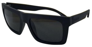 Von Zipper New VONZIPPER Sunglasses VZ DONMEGA Black Satin frame w/ Grey lenses