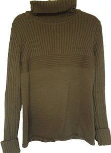 Escada Designer Turtleneck Merino Wool Sweater