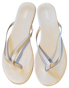 Esprit Tan Smoke And Pet Free Beige Sandals
