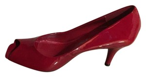 Arturo Chiang Patent Leather RED Pumps