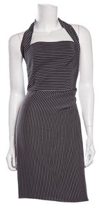 Armani Collezioni short dress Black & White on Tradesy