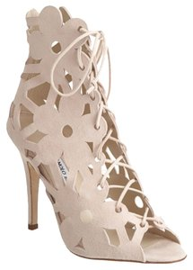 Manolo Blahnik Nude Sandals