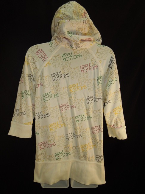 Apple Bottoms Sz L, XL Embellished Colorful Hoodie