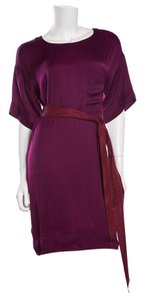 Lanvin short dress Purple Deep Red on Tradesy