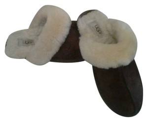 ugg slippers brown Mules