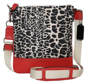 Coach Legacy Ocelot Swingpack Cross Body Bag
