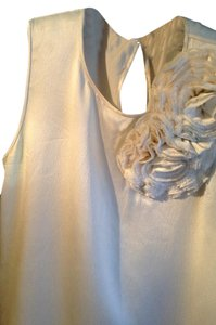 Kate Spade Silk Sleeveless Top Ivory
