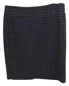 Ann Taylor Skirt Blue and black