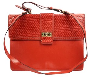 Franco Godi Satchel in Red