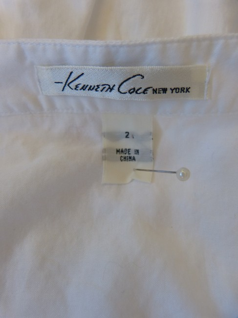 Kenneth Cole Top White