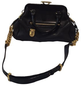 Marc Jacobs Leather Classic Edgy Timeless Cross Body Bag