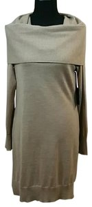 Cynthia Rowley Merino Wool Sweater Dress