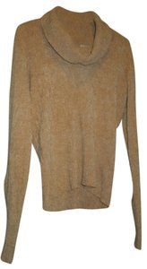 Worthington Soft Turtleneck Cowl Neck Tan Extra Long Sleeve Length Womens Free Shipping Tradesy Sweater