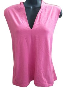 Talbots Summer Casual Top Pink