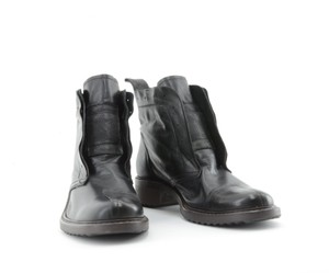 dusica dusica New Leather Black Boots
