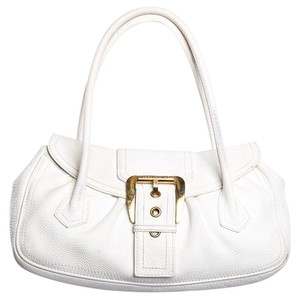 Céline Satchel in White